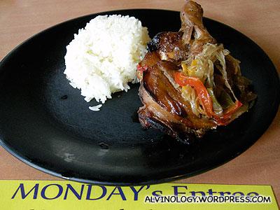 Monday - Honey Baked Chicken