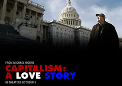 Michael Moore Capitalism Movie Poster