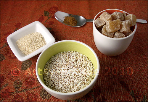 amaranth cereal ingredients