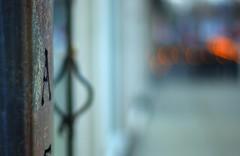 From A to Bokeh (splinx1) Tags: door urban art architecture composition dof pentax bokeh handheld fade depth hdr muted subtle bouldercolorado  photomatixpro osampocamera pentaxk10d smcpm50mmf17 pentaxart a exiff171250iso10005005