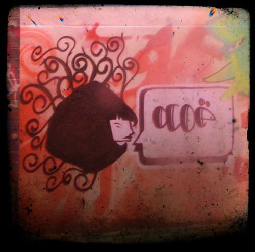 Grafitti outside my work