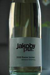Een van mijn eerste wijnen uit 2009!