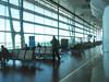 punto di fuga in aeroporto