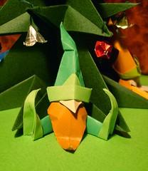 Gnomo 1 (Nocciola_) Tags: origami gnomo scalambra