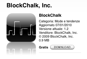 App Store (ITA) - BlockChalk