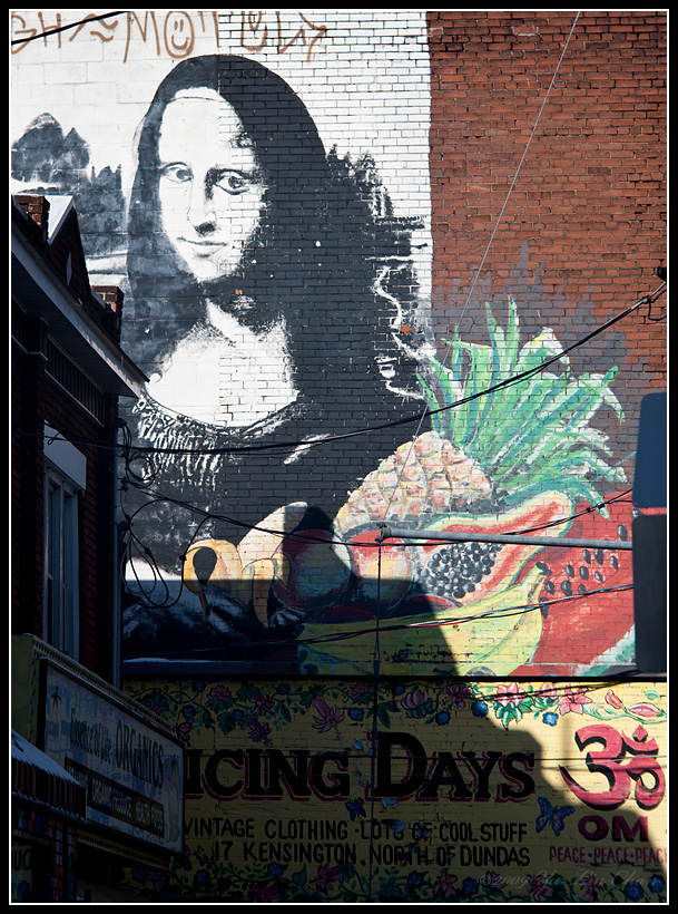 Mona Lisa at Kensington Market
