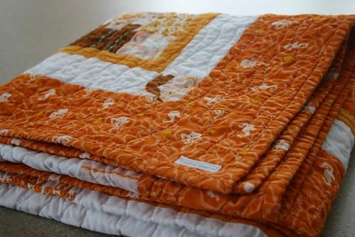 Mendocino Quilt - folded