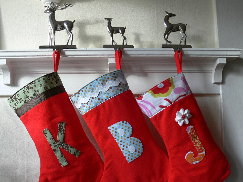 Jenny: Embellished Christmas Stockings