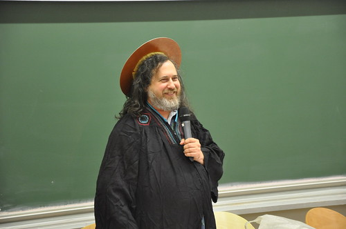 Richard Stallman à paris