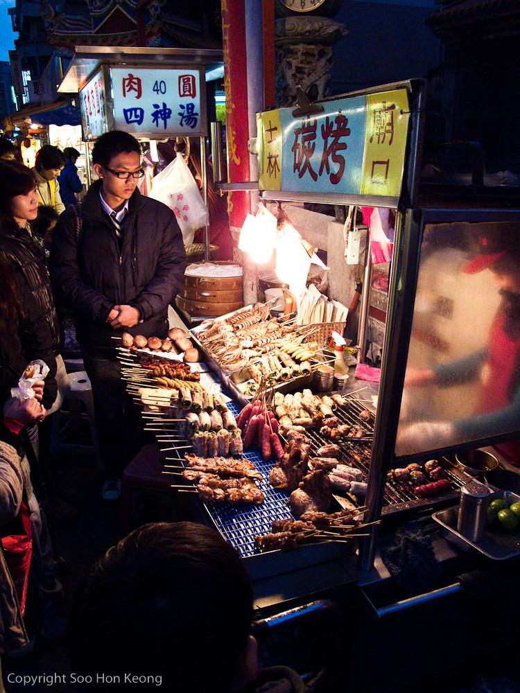 Vendor @ Shilin Night Market, Taipei, Taiwan