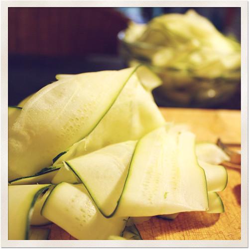 zucchini pasta
