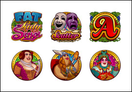 free Fat Lady Sings slot game symbols