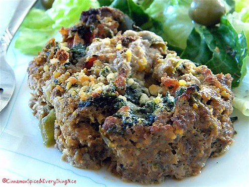 Italian Meatloaf Rollatini