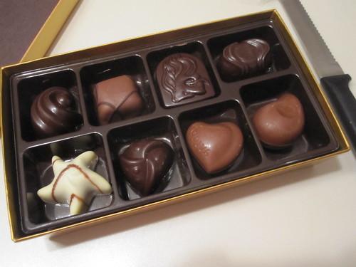 Godiva chocolate - free gift