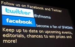 Follow @sfmoma on twitter & facebook