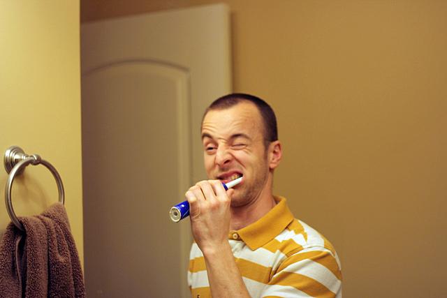 brush yo teeth