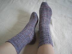 Victorian Lace Socks
