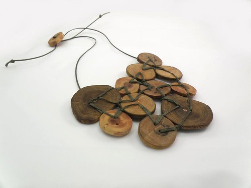 Oiled Wood Necklace