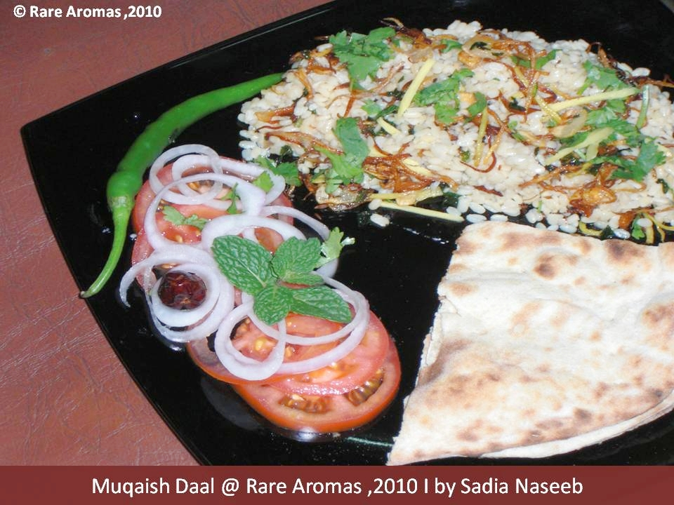 Daal plate