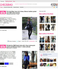 Chicisimo layout January 2010 (chicisimo) Tags: fashion layout frontpage chicisimo