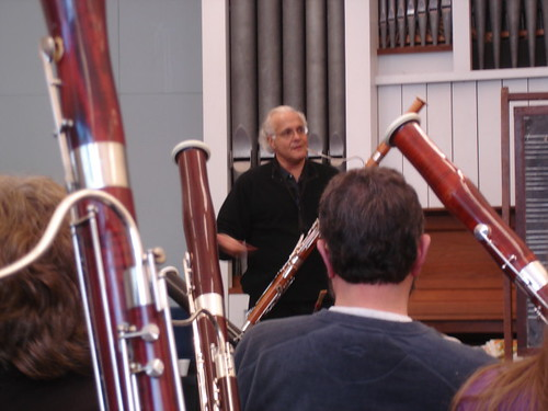 Frank Morelli at UNH Bassoon Day