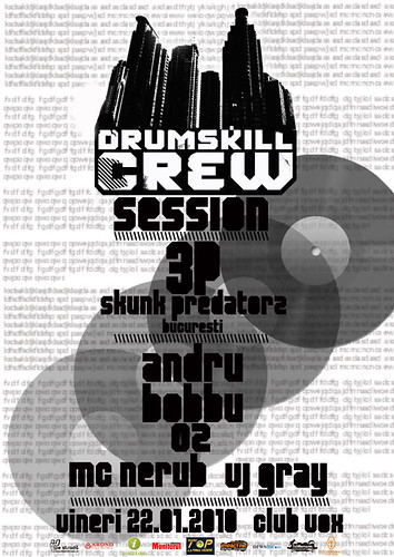 22 Ianuarie 2010 » Drumskill Crew Session