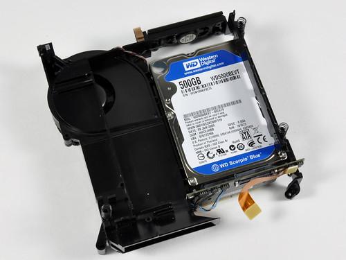 Mac mini жесткий диск