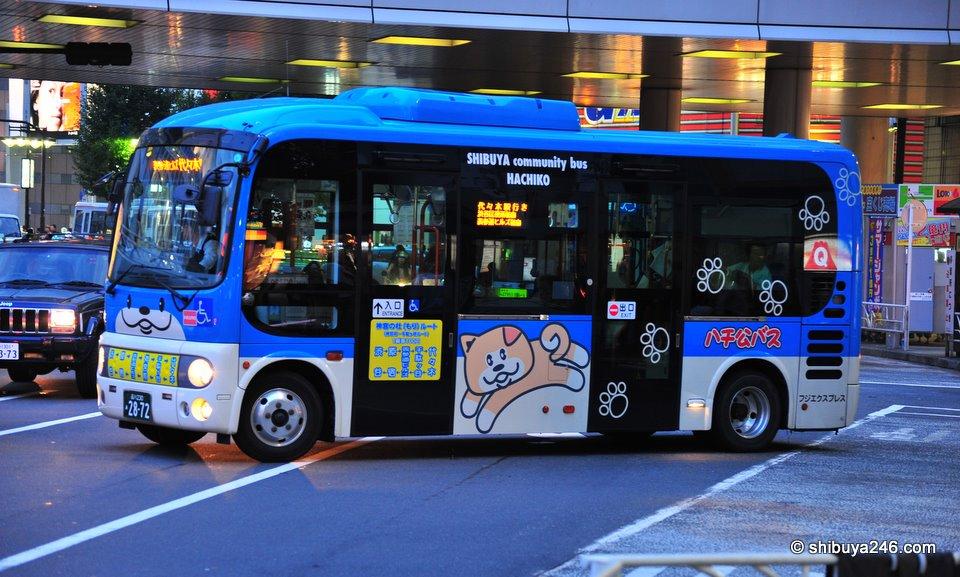 Shibuya community bus, Hachiko