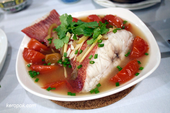 Steamed Fish Teochew Style