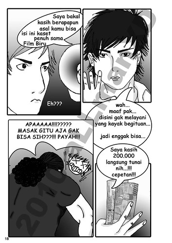 4297523868 0a6515a88f Suka Duka Operator Warnet Comic Version