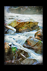 cold water (Cherestes Janos) Tags: winter cold water stone landscape nikon romania waterscape 55200mm kartpostal
