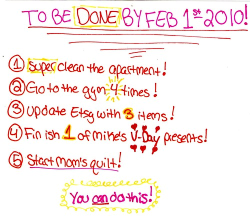 1-25-2010 to do list