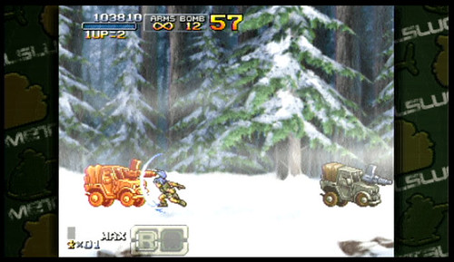 Metal Slug XX PSP Leona