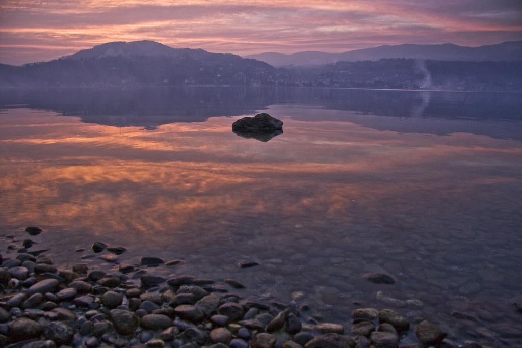 Sunset over Lake Maggiore #7
