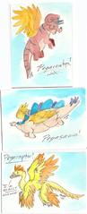 Pegasaur ACEOs!