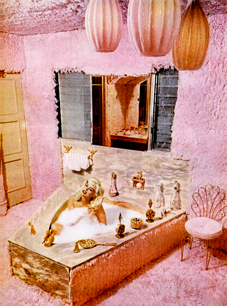 Jayne Mansfield's Bathroom (1961)