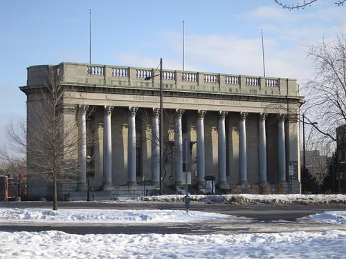 Ancienne bibliothèque de la ville de Montréal