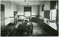 Reading Room, Paul Clark Home, Butte, Montana. (1900) (Butte-Silver Bow Public Library) Tags: charity bw book montana butte poor 1900 copper ore readingroom freeman poorhouse silverbow ook homelessshelter butteamerica buttesilverbowpubliclibrary buttepubliclibrary bsblibrary buttedigitalimageproject wwwbuttepubliclibraryinfo harrycfreeman henryoshepardcompany mingcamp paulclarkhome