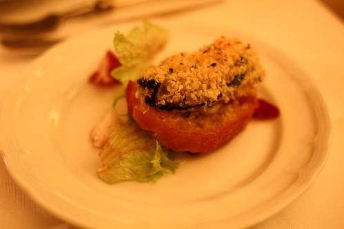 牡蠣 on パン