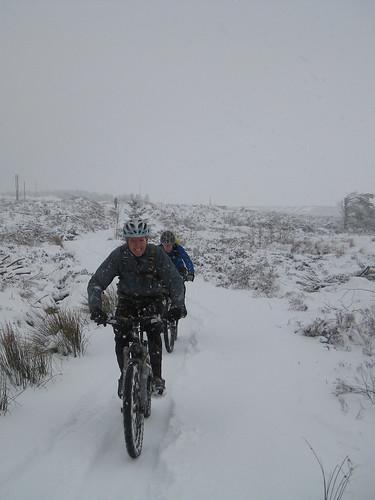 Llandegla in the Snow