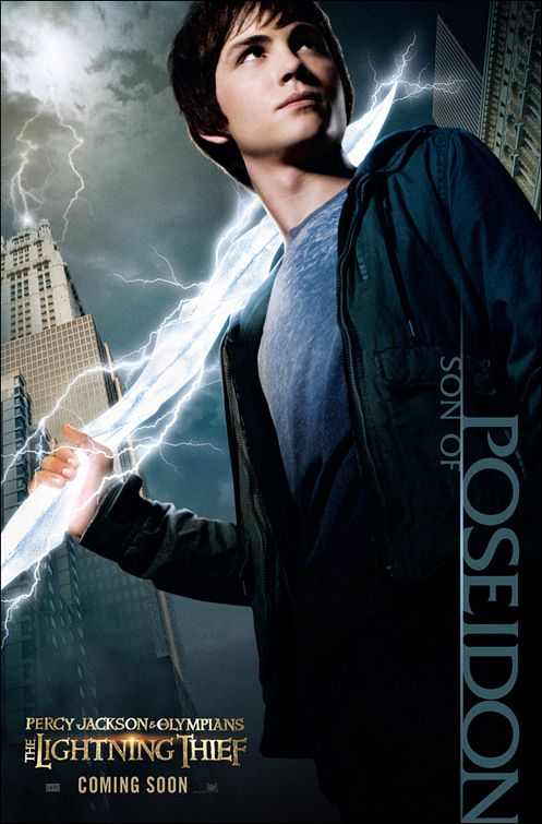 Percy Jackson & the Olympians The Lightning Thief movie poster