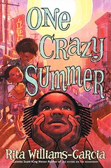 4323742301 a6285a48f6 m Review of the Day: One Crazy Summer by Rita Williams Garcia