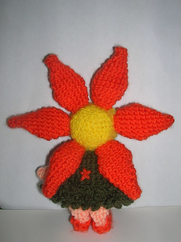 amigurumi flower fairy