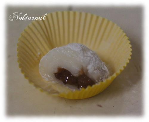 mochi fouré pate de haricot rouge