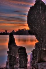 Srah Srang (nerolucca) Tags: sunset cambodia pre angkor wat hdr rup srah srang