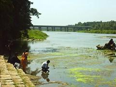 The Cauvery River, Srirangapatanam (Mike Fairbanks) Tags: india tipusultan srirangapatanam tippusultan gumbaz seringapatam cauveryriver ranganathaswamytemple india2008 sringapantam