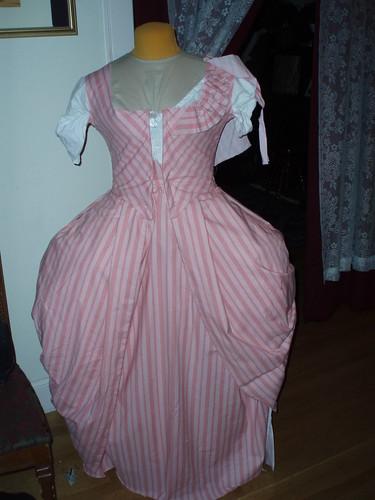 Fashion fabric sewn