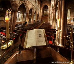 St Marys Church Budworth, From The Pulpit (Hotpix [LRPS] Hanx for 1.5M Views) Tags: uk church glass st religious interesting candle view place cheshire britain interior mary religion great chapel places stained marys gb bible inside lit gt hdr highdynamicrange internal northwich hotpix budworth chehire thisphotorocks
