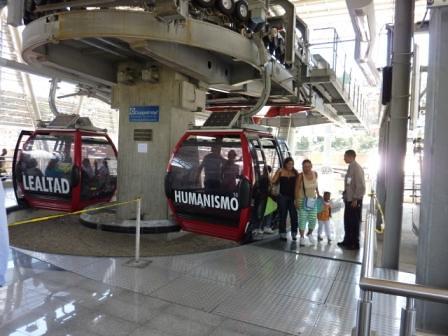 MetroCable Caracas humanismo