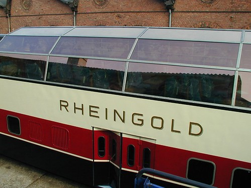 Rheingold - German charter train, panoramic dome car
